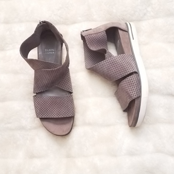 6406ae551809 Eileen Fisher Shoes - Eileen fisher women s sport platform sandal 11